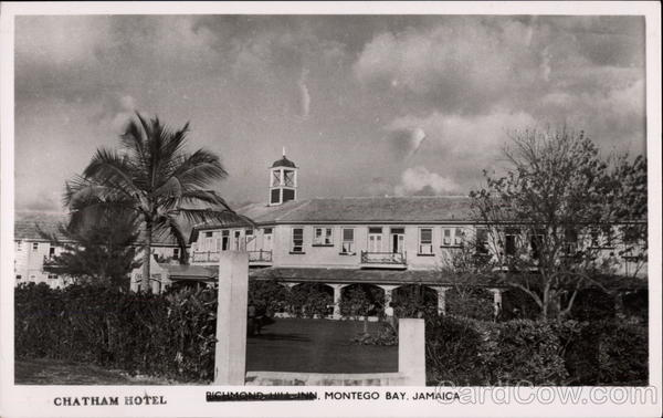 Chatham Hotel, Jamaica Postcards